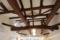 丸太梁のあるリフォーム 小屋組
