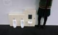 学校に小さいトイレ!!こういうの見ると芸術系大学だなって気になる