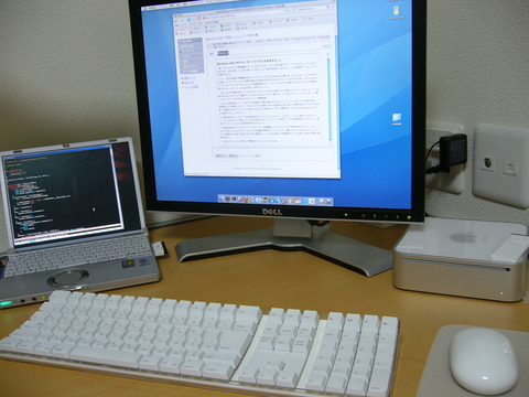 mac miniとR3