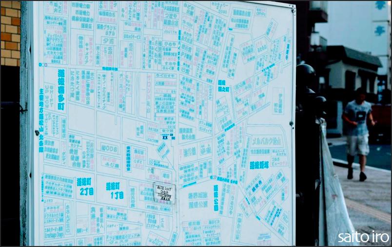 道後温泉の地図