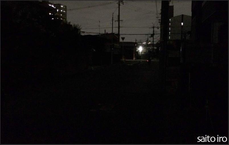 台風21号通過後の大阪