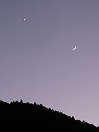 遠い星は小さく輝いて。月は痩せたり太ったり