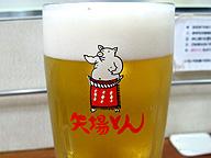 ビールのジョッキにもブーちゃん
