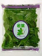 ベビーリーフ。生鮮野菜の人気商品の1つだ