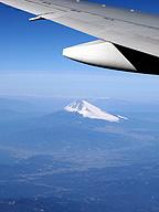 上から失礼。富士山よ、ごきげんよう