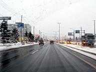 函館を走る