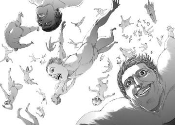 92話で獣の巨人(ジーク)がエルディア人を無知性巨人に変える能力を発動