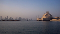 [qatar]イスラム美術館とWest Bayのビル群