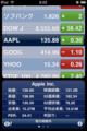 [apple]「株価」も機能アップ