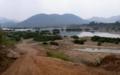 [lao]サントン郡のタイとの国境