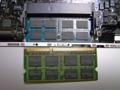 [apple]2GBのメモリを4GBに交換