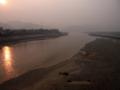 [china]瀾滄江の朝焼け