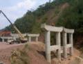 [china]プアールから先は高速道路はまだ整備中だった