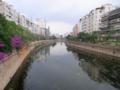 [china]市内を流れる盤龍川