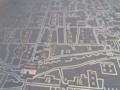 [china]街の中心には、道路に昔の昆明の図が書かれていた