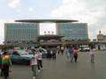 [china]昆明駅、中国の駅舎はどこも巨大