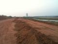 [lao]メコン川沿いの護岸工事現場を歩く