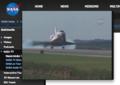NASA TVで見るスペースシャトルディスカバリーの帰還