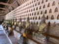 [lao]Wat Si Saket回廊の仏像