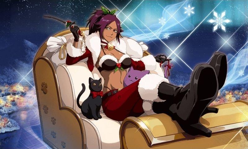 四楓院夜一:クリスマスver