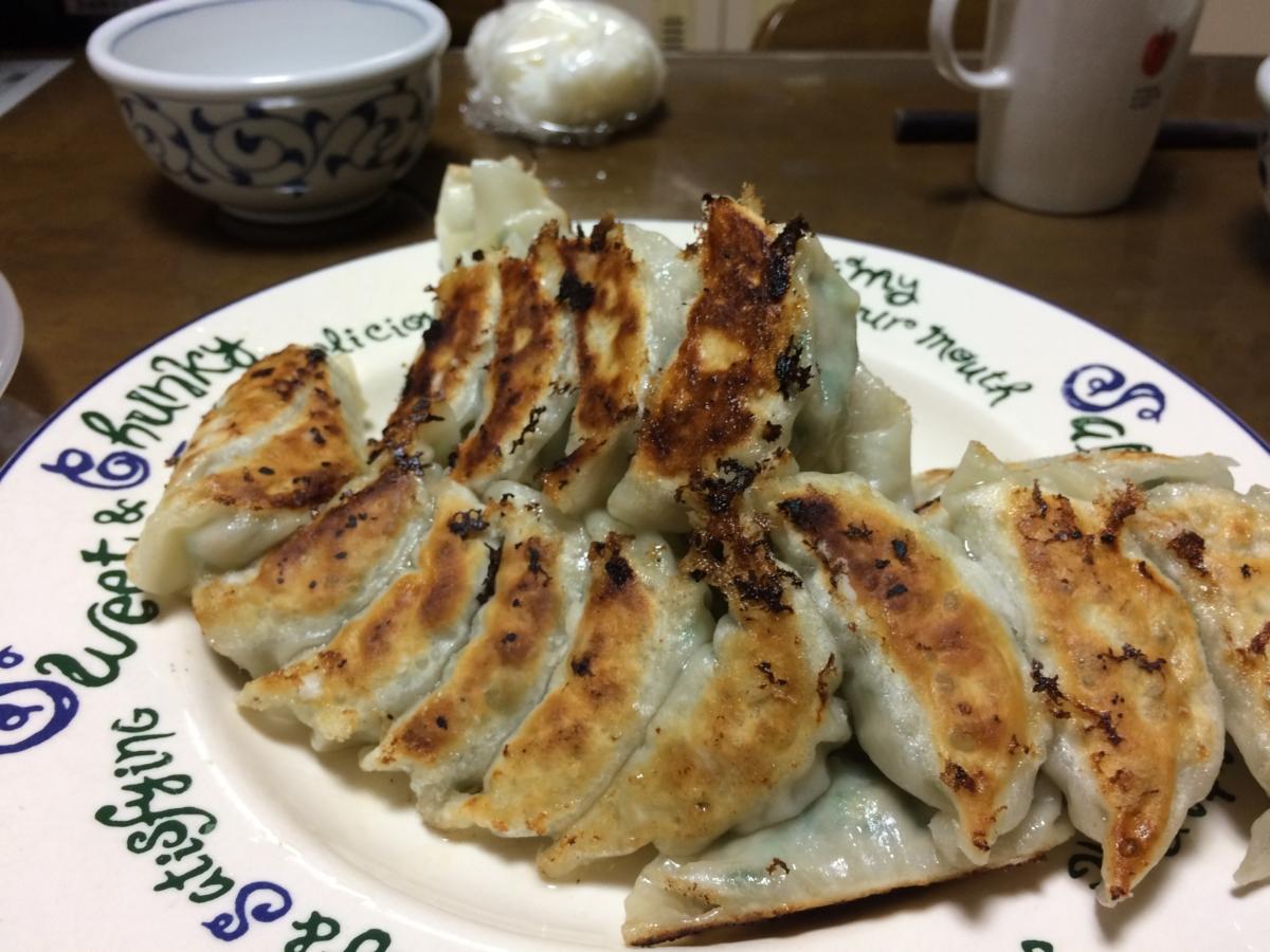 簡単でおいしい白菜と豚ミンチの餃子