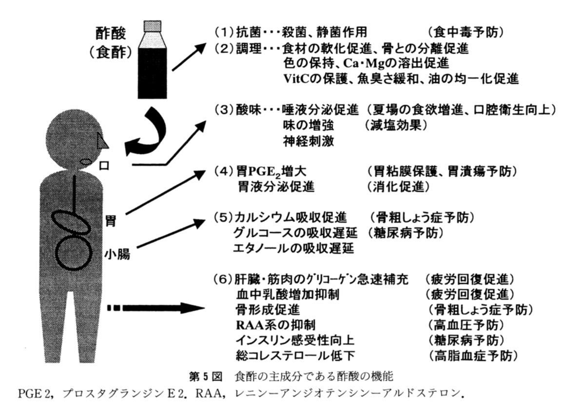 生活習慣病に及ぼす食酢の効果