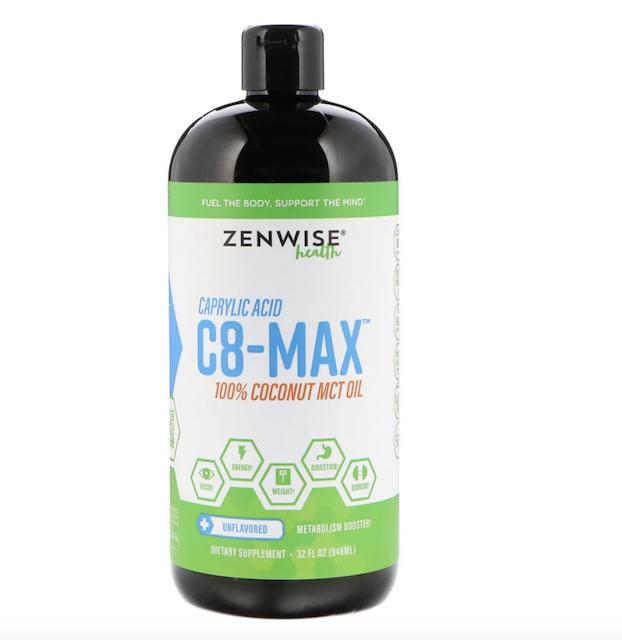 Zenwise Health, C8-MAX、カプリル酸MCTオイル