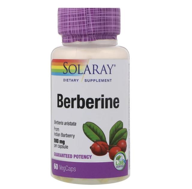 Solaray, Berberine, 500mg | iHerb