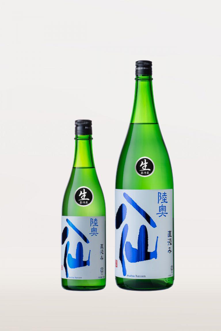 陸奥八仙ヌーボーの酒瓶画像