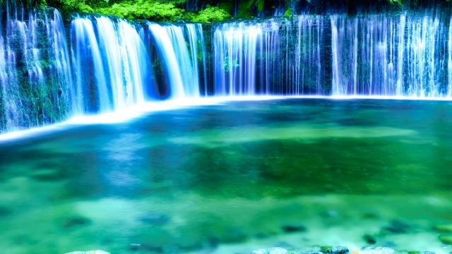 白糸の滝 画像