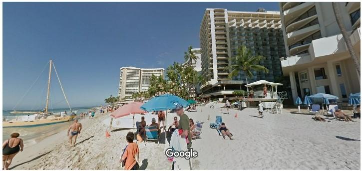ワイキキビーチ 画像