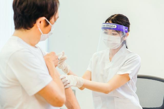 ワクチン接種画像