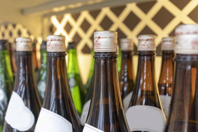 酒瓶の画像