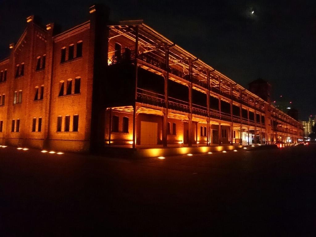 横浜赤レンガ倉庫 建物