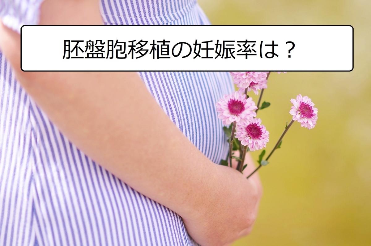 胚盤胞の妊娠率