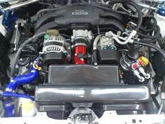 デモカー86-エンジン