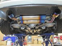 デモカーZ33-排気