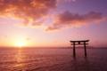 京都新聞写真コンテスト 琵琶湖の朝