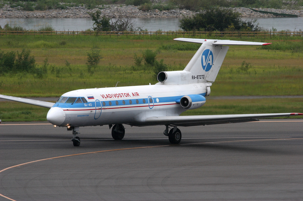XF RA-87273 Yak-40