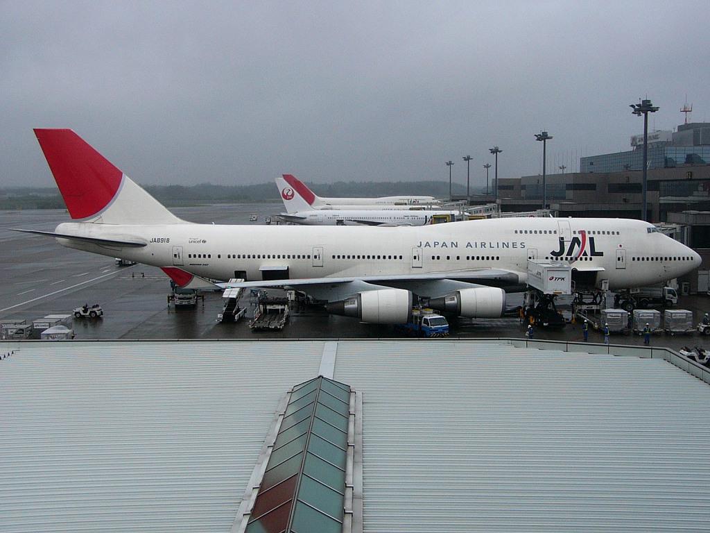 JL JA8918 B747-400