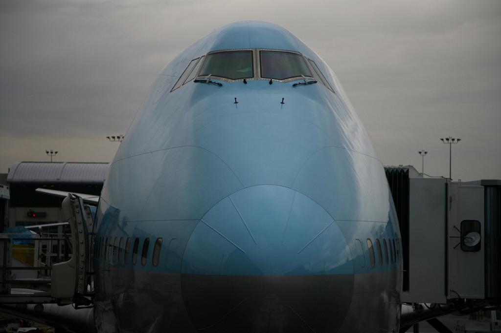 KE HL7472 B747-400