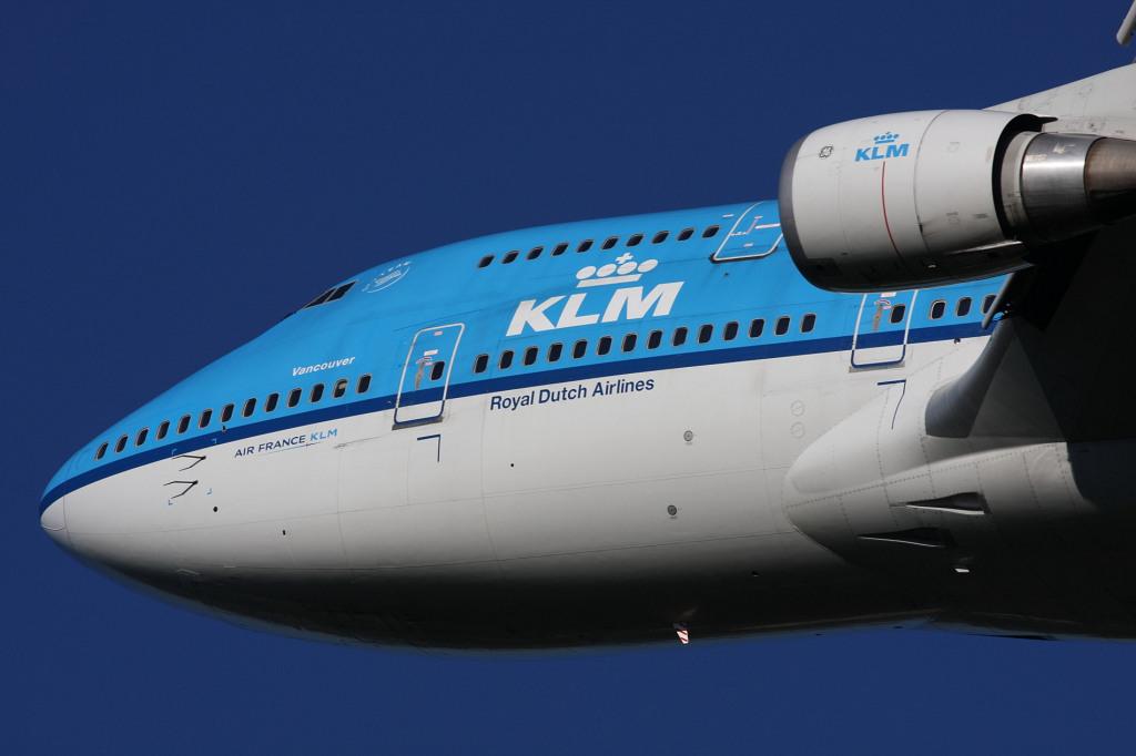KL PH-BFV B747-400M