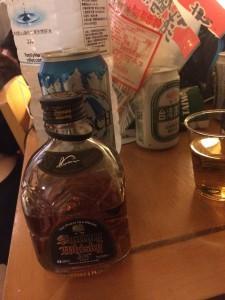 ビールやウィスキーやおつまみやら