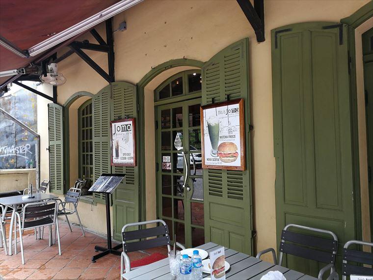 ルアンパバーンのJoma Bakery Cafeの入り口