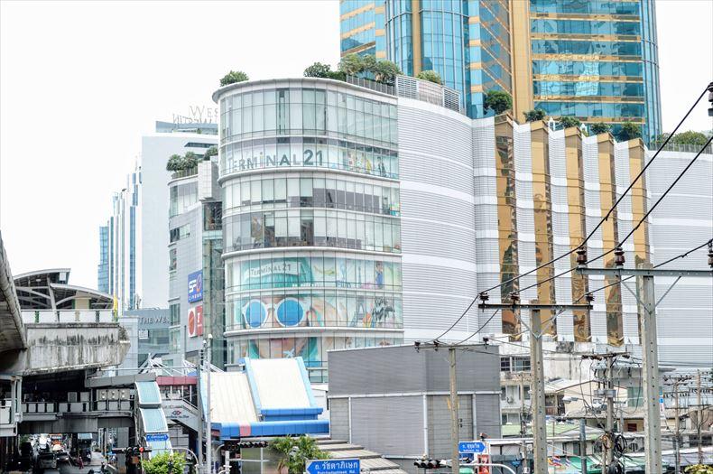 バンコクのターミナル21の外観