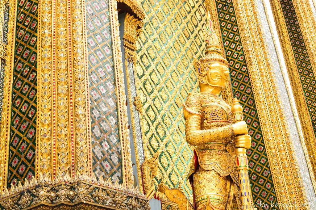 タイ・バンコクの王宮(ワット・プラケオ)