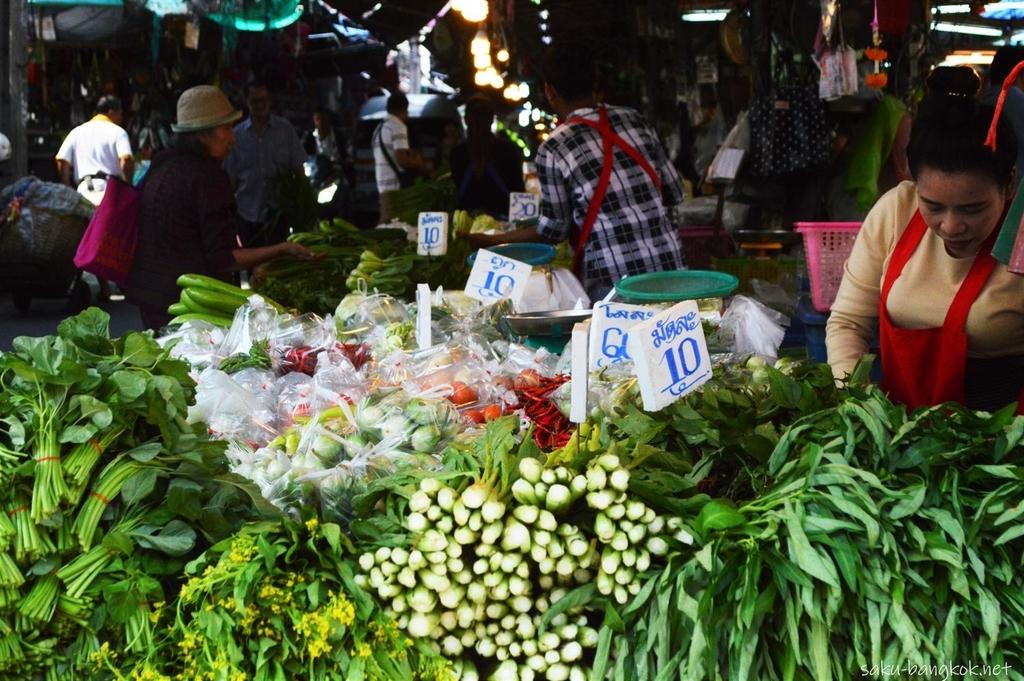 サムロン市場散策 タイトル画像