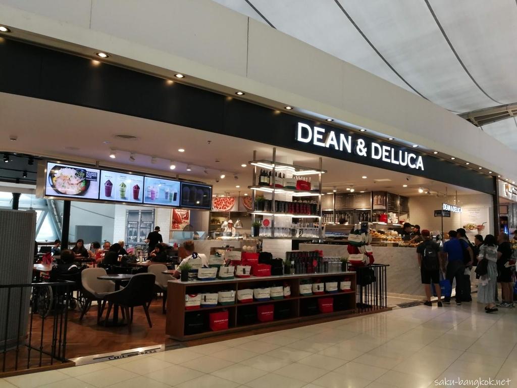 スワンナプーム国際空港のDEAN & DELUCA