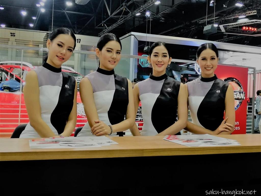 タイ国際モーターエキスポ2018 プリティ