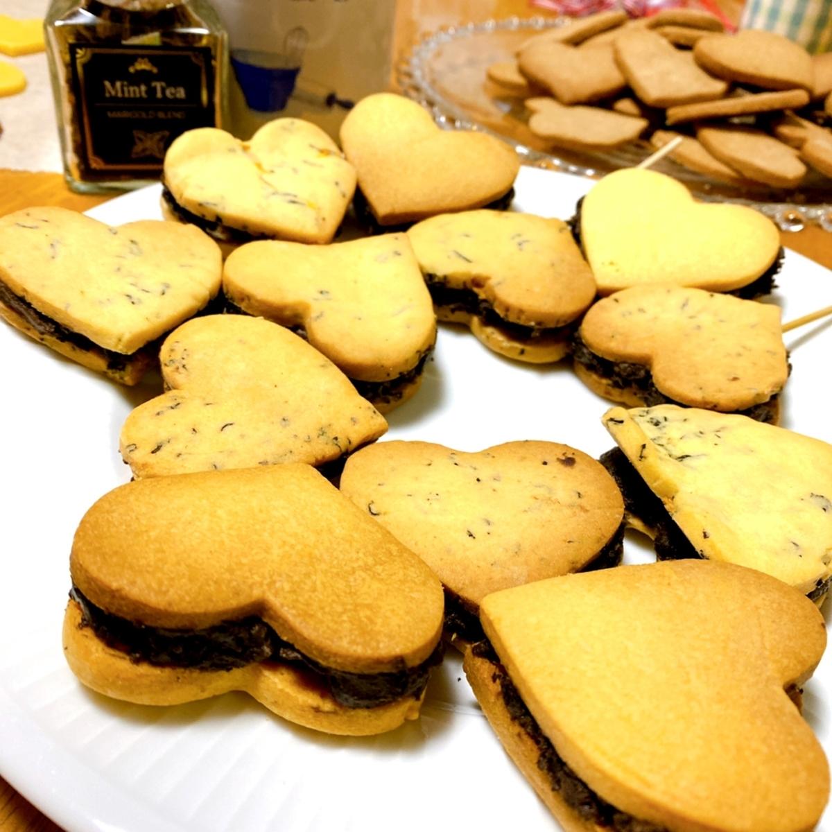 クッキーサンドの写真